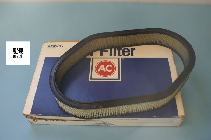 1984 Corvette C4 Air Filter. Correct NCRS, New In Box